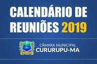 Calendário de Reuniões 2019