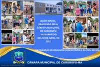 Câmara Municipal realiza ação beneficente pelos bairros da cidade