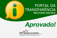 Portal da Transparência Aprovado