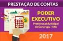 Prestação de contas do Executivo - 2017
