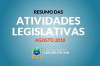 Resumo das Atividades Legislativas