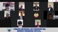 Segunda Sessão Virtual da Câmara Municipal de Cururupu